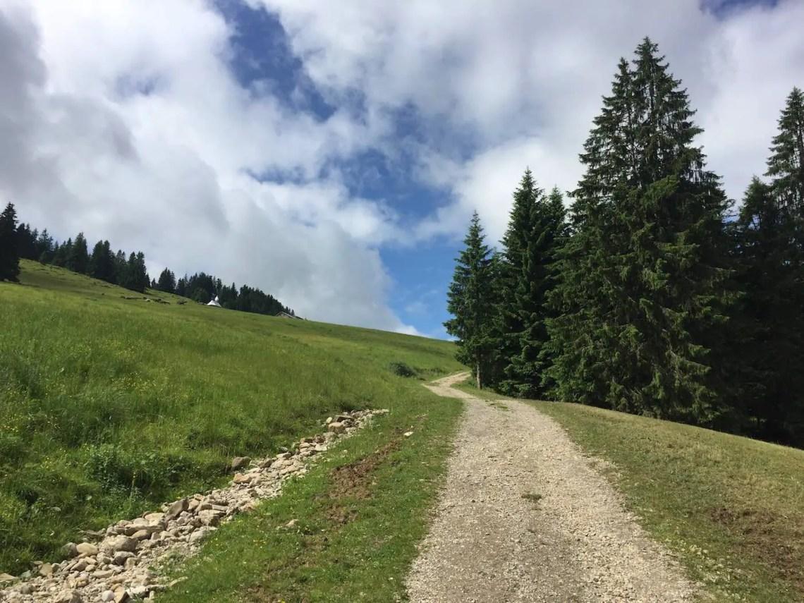 Auf dem Weg zur Kapelle Hochwies
