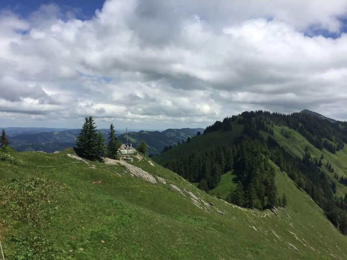Gipfelkreuz Auf dem Falken