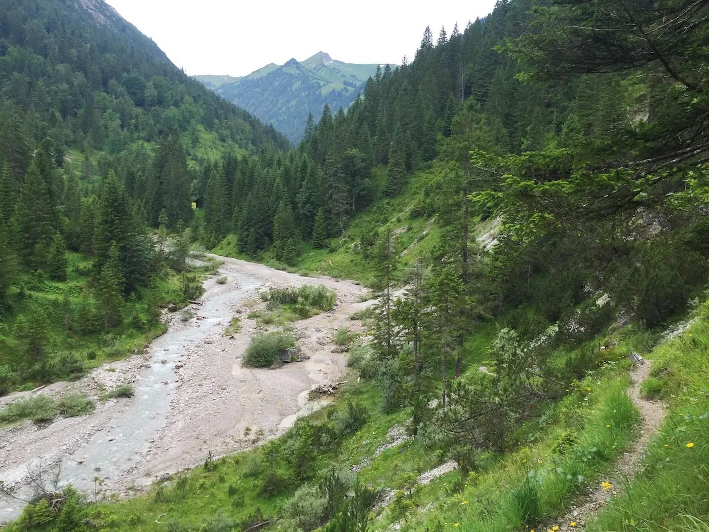 Lachenspitze, 2130m