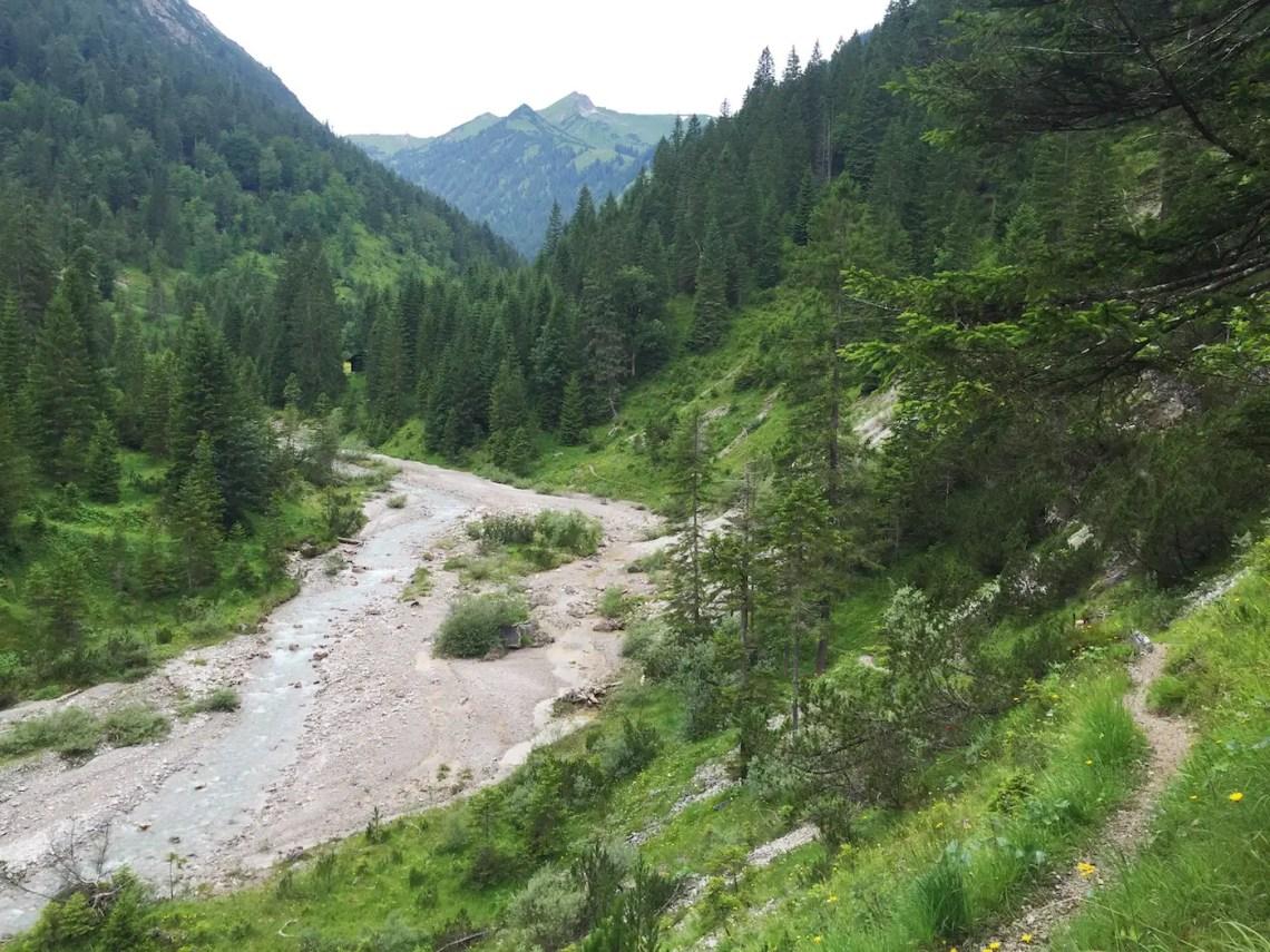 Wanderung durch das Birkental