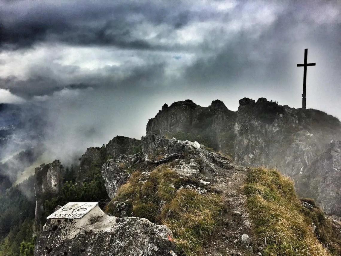 Sorgschrofen Gipfelkreuz