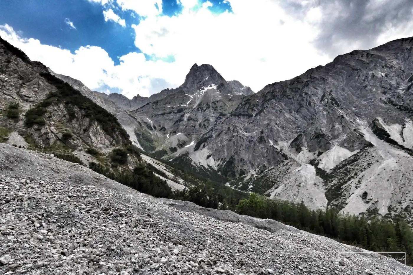 Klettersteig auf die Lamsenspitze (Naturpark Karwendel)