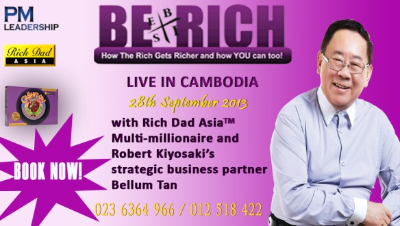 Be Rich Workshop is back again