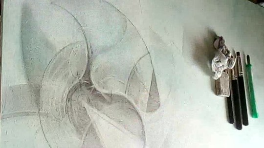 WIP – Graphite Artifact – The Waves