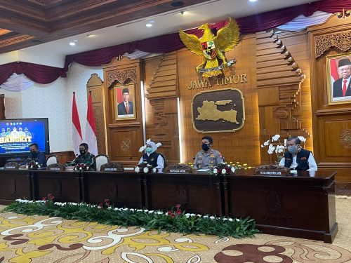 Jawa Timur Satu-satunya Provinsi di Indonesia Capai Level 1 Penanganan Covid-19