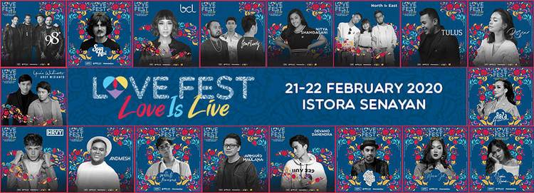 LOVE FEST 2020 – LOVE IS LIVE