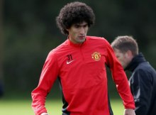 Marouane-Fellaini-Manchester-United-Training-2014