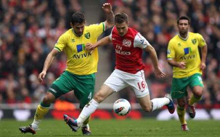 Prediksi Norwich City vs Arsenal