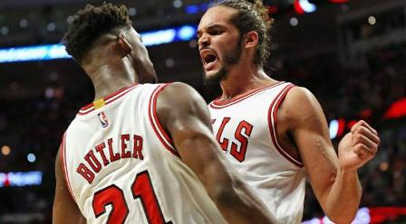 Chicago Bulls Mengamuk