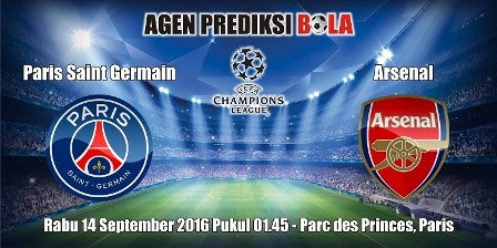Prediksi Paris Saint Germain vs Arsenal