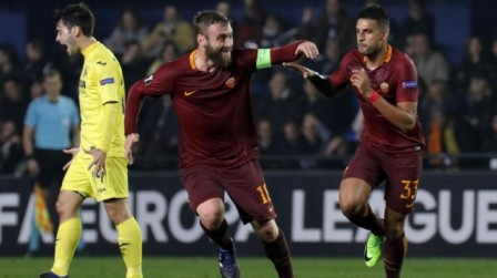 Prediksi AS Roma Vs Villarreal
