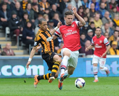Prediksi Arsenal Vs Hull City