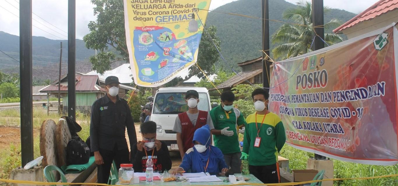 Gerilya Tim Gugus Tugas Covid-19 Kolaka Utara Menghalau Pandemi Diperbatasan