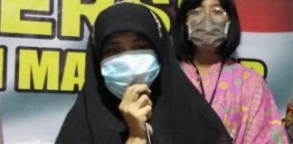 Ince Ni'matullah (40) perempuan viral yang melempar dan hendak merobek Al-Qur'an