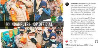Postingan Akun indahputri_idp.official. (https://www.instagram.com/indahputri_idp.official/)