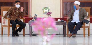 Pertemuan Bupati Gowa bersama Asosiasi Imam Masjid Sulsel. (Foto: berita.news/Ist)