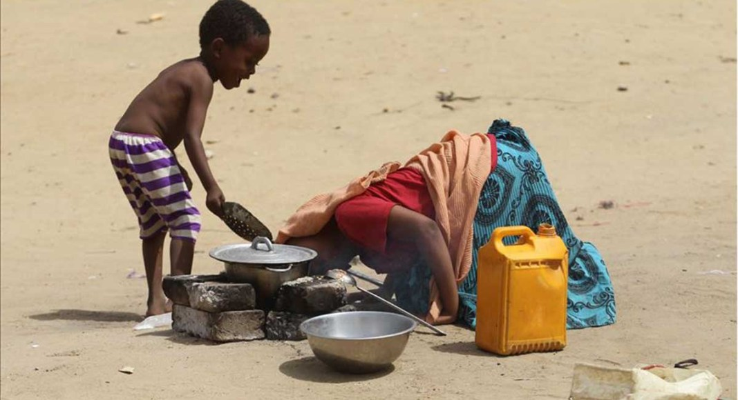 Warga Afrika Timur kurang Gizi