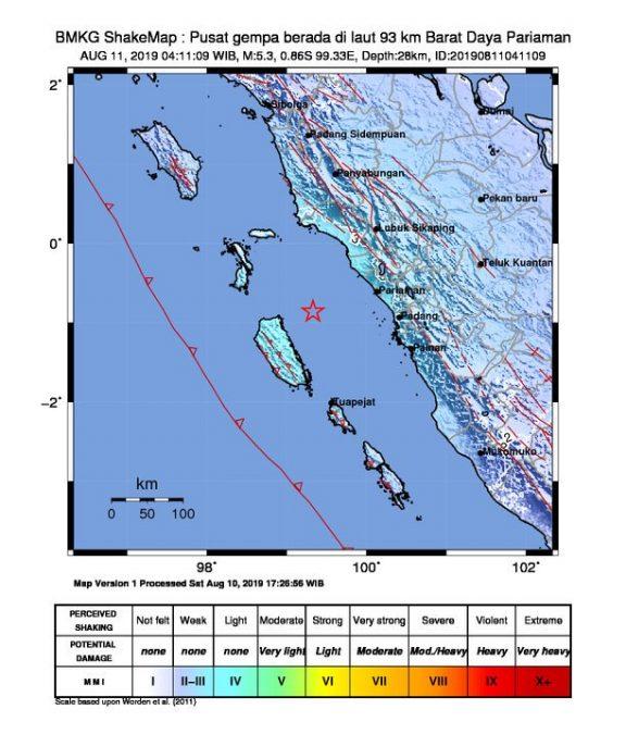 Tiga Gempa