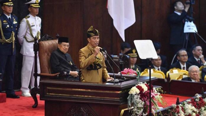 Pidato Jokowi