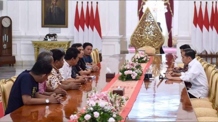 Jokowi Petani