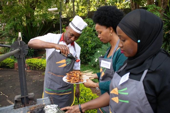 Pelatian Memasak KBRI Nairobi