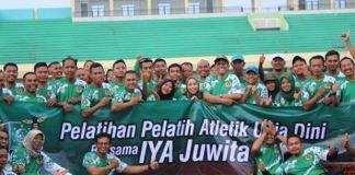 Ratna Juwita Hadiri Pelatihan Pelatih Atletik Usia Dini di Tuban