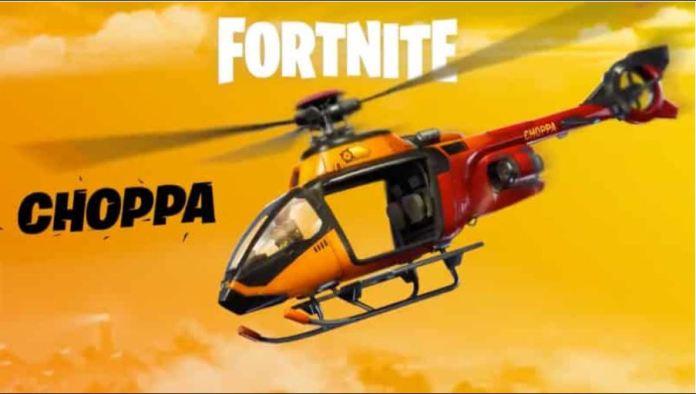 Helikopter Fortnite