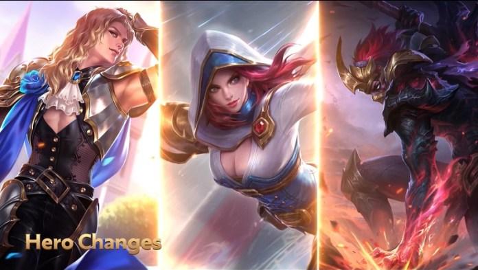 Lancelot, Natalia, Hanzo