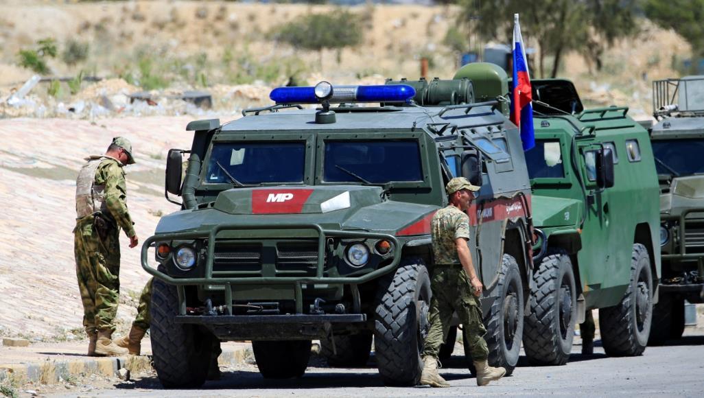 Patroli Rusia di Suriah