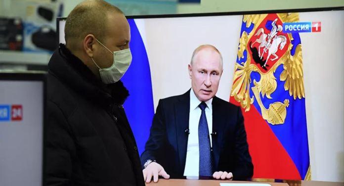 Virus Korona Rusia
