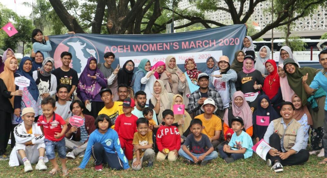 Hari Perempuan Sedunia, Gerakan Perempuan dan Millenial Aceh Gelar Aksi