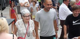 Ibu Pep Guardiola