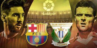 Berita Baru, Barcelona vs Leganes