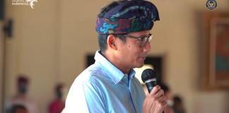 Sandiaga Uno Berkantor di Bali