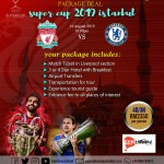 Pakej UEFA Super Cup Istanbul 2019