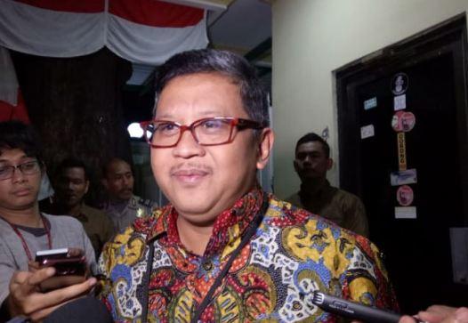 Sekretaris TKN KIK, Hasto Kristiyanto.
