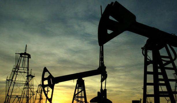 Ilustrasi pengeboran minyak.