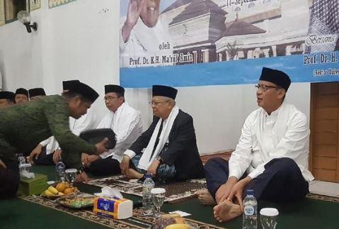 Maruf Amin Didampingi Gubernur Banten di Dies Natalis Untirta.