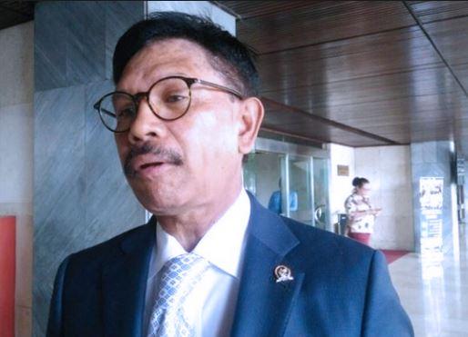 Wakil Ketua TKN/Timses Jokowi-Ma'ruf Amin, Jhonny G Plate.