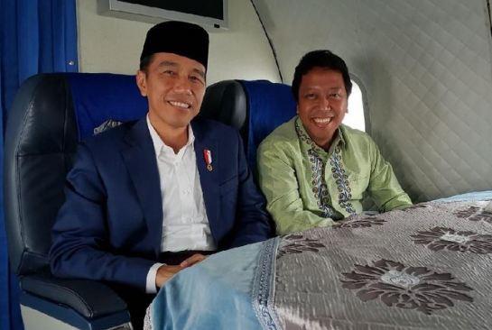 Jokowi dan Rmmy.