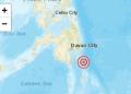 Pusat Gempa di Kepulauan Talaud, Sulut. (Dokumen akun Twitter BMKG).