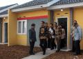 Presiden Jokowi saat tinjau pembangunan satu juta rumah.