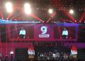 Presiden Jokowi saat beri kata sambutan di Ultah ke-9 bukalapak.