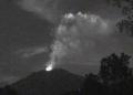Erupsi Gunung Agung.