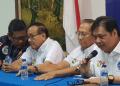 Alumni Menteng 64 saat deklarasi dukung Jokowi-Ma'ruf.