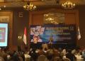 JK saa berikan kata sambutan di acara Silaturahmi Nasional (Silatnas) Institut Lembang Sembilan.