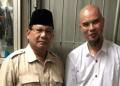Prabowo dan Ahmad Dhani.