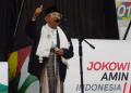 KH Ma'ruf Amin kampanye di Lebak, Banten.