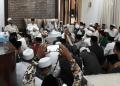 Ulama se-Indonesia doa bersama Ma'ruf Amin.