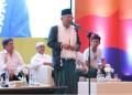 Cawapres Ma'ruf Amin saat berkampanye di Palembang, Sumsel, Jumat (29/3). (Foto: dok. TKN Jokowi-Ma'ruf)